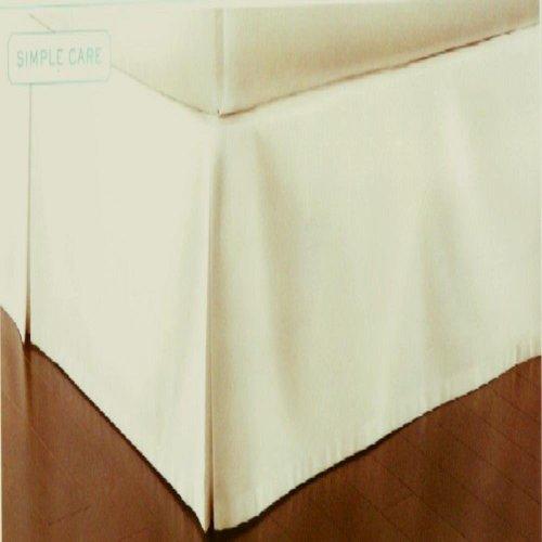 Martha Stewart 200T Essentials King Bedskirt Off White