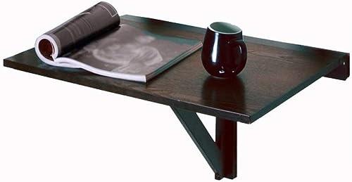 LQQGXLPortabler Klapptisch Klappbarer Stapeltisch, an der Wand befestigter Computertisch, Schreibtisch, (Farbe   C)