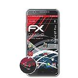 atFolix Schutzfolie kompatibel mit Oukitel U7 Plus Folie, entspiegelnde & Flexible FX Bildschirmschutzfolie (3X)