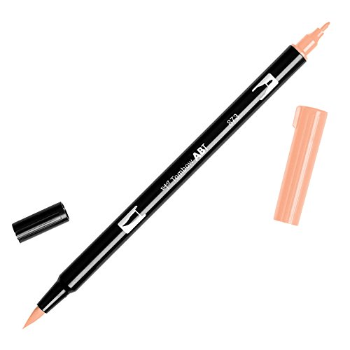 Rotulador Abt Dual Brush 873 Coral Tombow