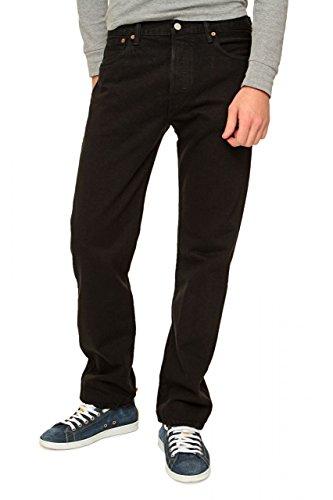 Levi's 501 Original Fit Jeans, Black, 30W / 30L Uomo