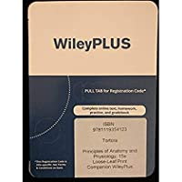 WileyPlus companion Registration card for Principles of Anatomy and Physiology 15e【洋書】 [並行輸入品]