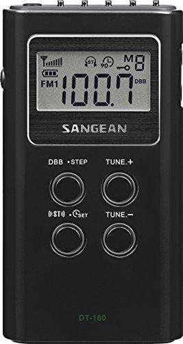 Sangean DT-180 AM / FM Pocket Radio