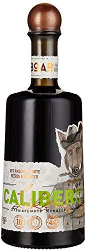 CALIBER 1844 – SCHWARZWALD-GIN-LIKÖR/mit BOAR Gin hergestellt / 18 Beeren und 44 feine Kräuter/Kleine Familienbrennerei