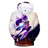BAGFP Sudaderas con Capucha Suéter 3D Impresión Digital Erizo Personalizado Encapuchado Fresco Moda Hombres Y Mujeres El Mismo Párrafo Suéter De Cobertura Femenino S-4Xl