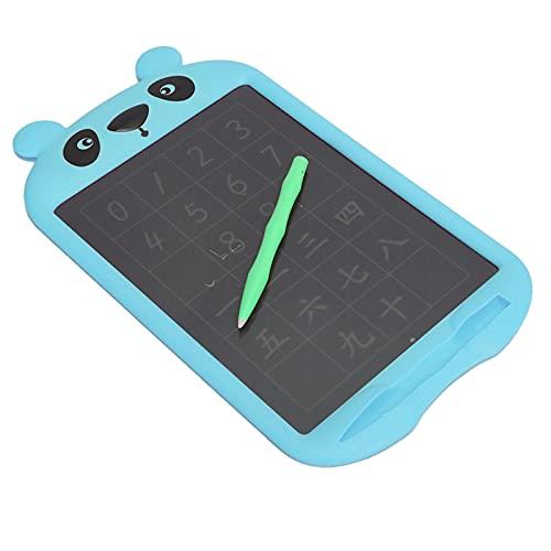 Tablero de Dibujo LCD, Tablero de Dibujo de Pantalla LCD sin luz Azul para Proteger la Salud Ocular de los niños, Tablero de Dibujo de Graffiti con lápiz de Escritura a Mano(Azul)