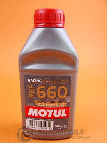 Motul Brake Fluid DOT40.5L RBF 660RACING 1016663374650235011 by Motul