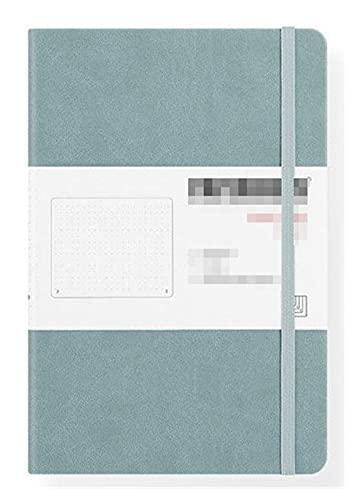 LWBK D A5 Tagebuch Dot Matrix Notizbuch Retro Bandage Candy Farbe Tagebuch (Farbe: Wu Lan)