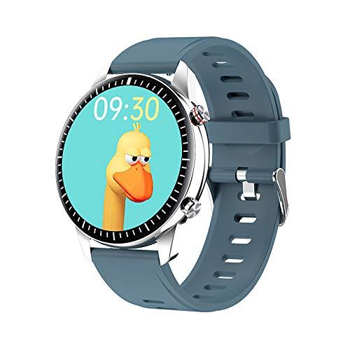 RAPG Reloj inteligente, I15 Ip67 impermeable pulsera inteligente de frecuencia cardíaca, presión arterial, oxígeno en sangre, podómetro, reloj con contador de calorías