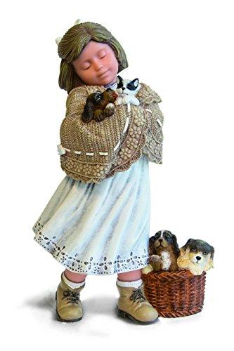 Nadal Figura Decorativa Bienvenido a Nuestra camada, Resina, Multicolor, 9.00x12.00x21.50 cm