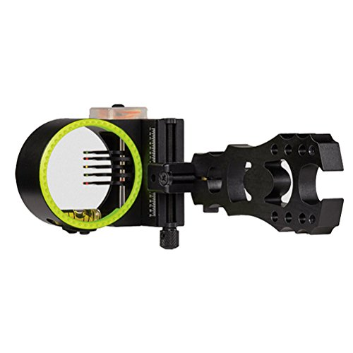 Black Gold Widow Maker Archery Bow Sight Black 5...