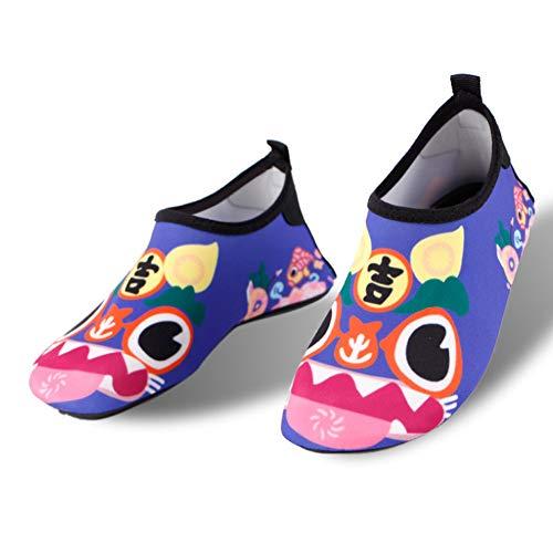 MOye Water Schoenen, Strand Surf Duiken Zwemmen Hardlopen Snorkelen op blote voeten Huidschoenen Voor Kinderen