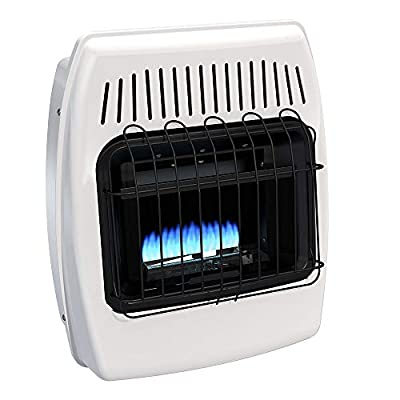 Dyna-Glo BF10NMDG 10,000 BTU Natural Gas Blue Flame Vent Free Wall Heater (Renewed)