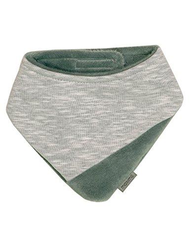 maximo Baby-Jungen 85400-017800, Tuch mit Klettverschluss Halstuch, Grau (Graumeliert 5), 1