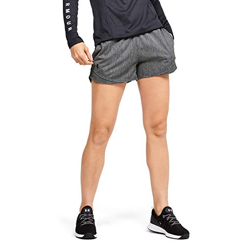 Under Armour Play Up Short 3.0 Twist, Jet Gray (010)/Black, Small