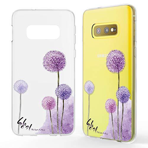 NALIA Hülle kompatibel mit Samsung Galaxy S10e, Motiv Handyhülle Slim Silikon Hülle Cover Schutzhülle Dünn Durchsichtig, Etui Handy-Tasche Backcover Transparent Bumper, Designs:Dandelion Pink