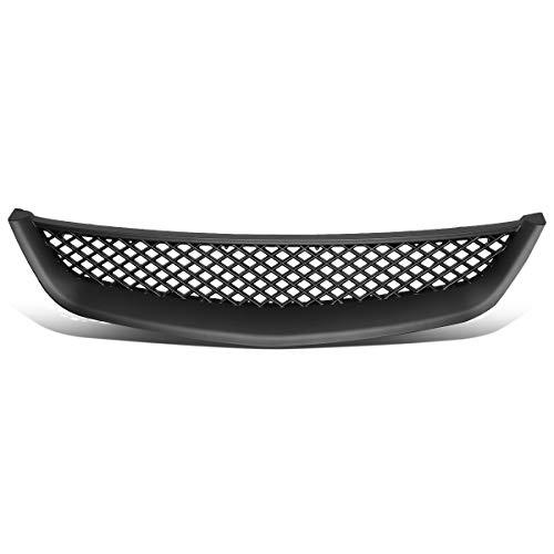 DNA Motoring GRL-HC01-TR-ABS Front Bumper Grille Guard [For 01-03 Honda Civic]