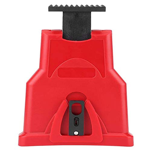 Portable Electric Chainsaw Teeth Sharpener Chain Sharpening Tool Simple Fast Grinding Tools For Woodworking (red)