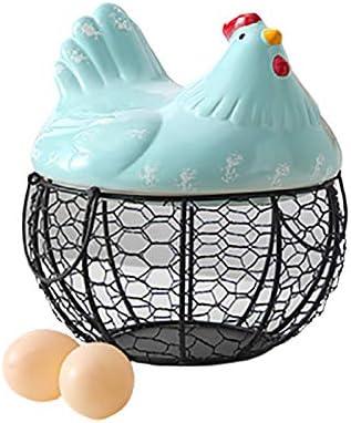 Ranking TOP7 zhanglie Egg Storage Basket Creative Hen-shaped New popularity Fru