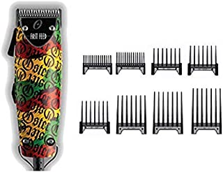 Oster Fast Feed Limited Edition Rastalogy Rasta Hair Adjustable Pro Clipper + 8pc Combs