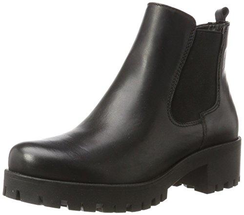 Tamaris Damen 25435 Chelsea Boots, Schwarz (Black Leather), 39 EU