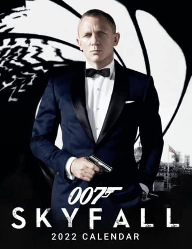 007 Skyfall 2022 Calendar: Movie tv series films calendar dvd. Planning- Calendar planner 12 months