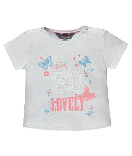 Kanz T-Shirt 1/4 Arm 1832113, Bianco (Bright White 1000), 62 Bambina