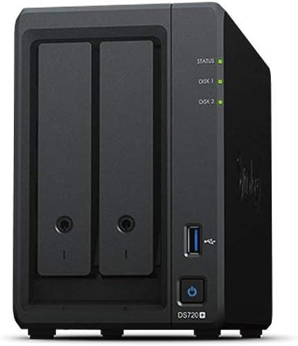 Serveur NAS 2 baies Synology DiskStation DS-720+, Sans Disque