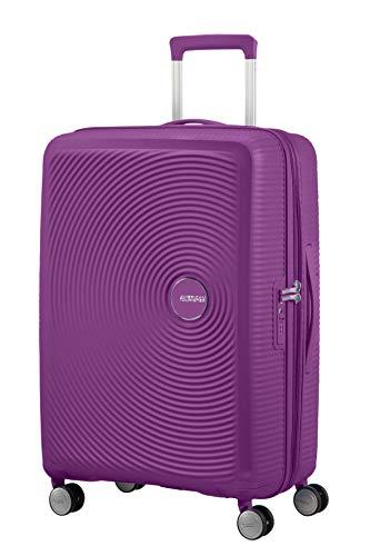 American Tourister Soundbox - Spinner Medium Expandable Maleta, 67 cm, 81 Liters, Morado (Purple Orchid)