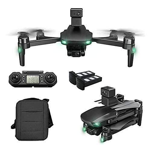 Quadricottero RC 360 gradi,evitamento ostacoli,drone GPS con videocamera UHD 6K per adulti,droni GPS con giunto cardanico a 3 assi,motore brushless video live FPV 5G WIFI,distanza telecomando 1200 m