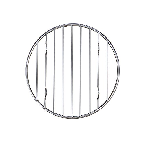 Mrs. Anderson's Baking Professional Round Baking and Cooling Rack, Heavyweight Chrome, 6-Inches