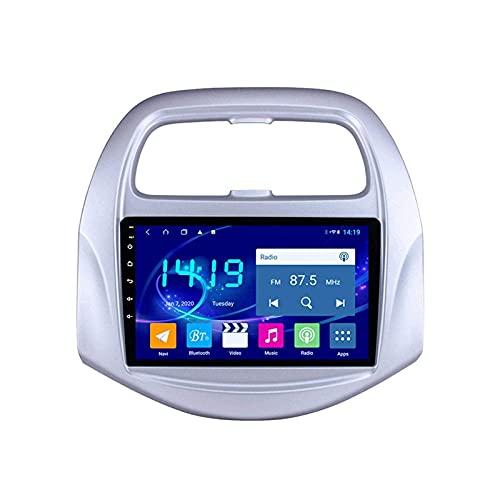 Reproductor Multimedia para Coche Sistema de navegación GPS para Chevrolet Spark 2019 Unidad Principal Navegación por satélite Radio automático Estéreo con Mirrorlink Bluetooth WiFi USB Pant