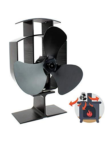 Ventilador sin potencia para estufas de chimenea