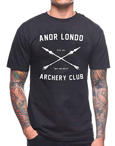 ANOR LONDO Archery Club T Shirt Dark Souls Xbox Game Gamer Birthday Present