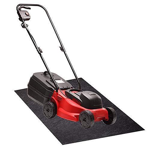 Garage Floor Mat for Under Lawn Mower | New Pig Lawnmower Mat | Protect Garage Floor from Oil & Rust Stains | 3' x 5' Oil Mat, Black
