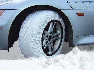 Isse Super Paire de chaussettes à neige homologuées EU (alternative aux chaînes) pour pneus de taille – 215/40/16 Kit 58