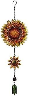 Sunset Vista Designs 14166 Hanging Decoration Garden Bell, Sunflowers