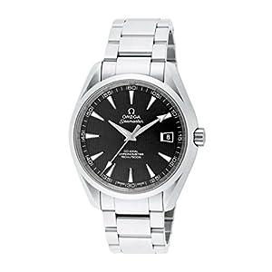 Omega Men's 231.10.42.21.06.001 Seamaster Aqua Terra Chronometer Black Dial Watch