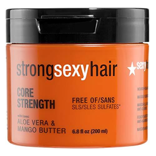 Sexy Hair Strong Core Strenght Nourishing Maschera per capelli anti-reakage, 200 ml