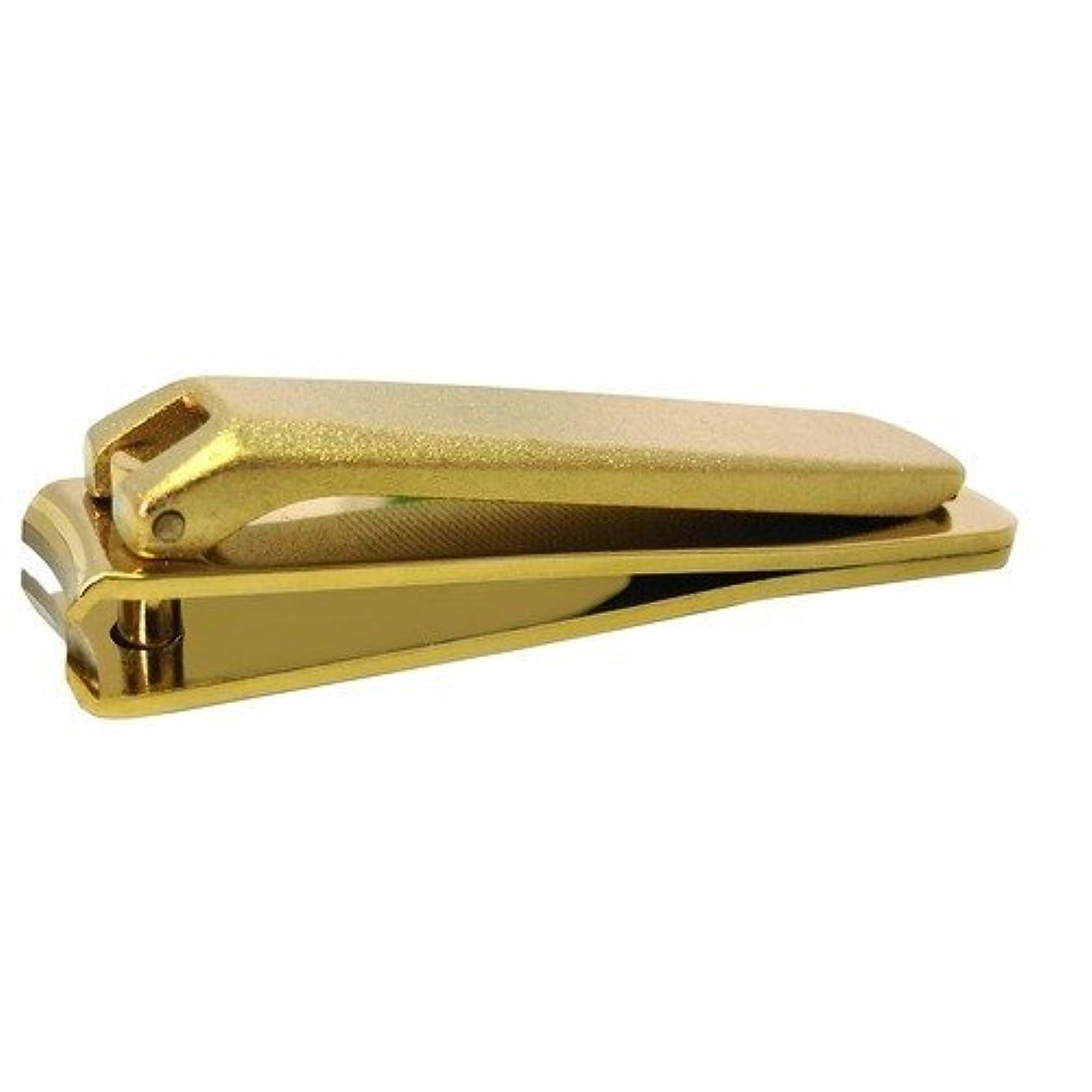 空カテナスキップKD-031 関の刃物 ゴールド爪切 小 カバー無