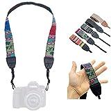 Lens-Aid – Correa de Cámara – Correa de Hombro y Cuello, Diseño Moderno, Tejido de Lona, Ideal para cámaras Canon, Nikon, Sony, Fujifilm, Olympus, Leica (Inka Mix Oscuro)