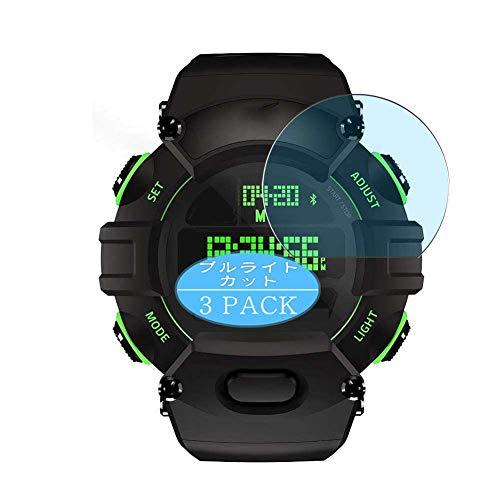 Vaxson 3 Stück Anti Blaulicht Schutzfolie, kompatibel mit Razer Nabu smartwatch Smart Watch, Displayschutzfolie Bildschirmschutz [nicht Panzerglas] Anti Blue Light