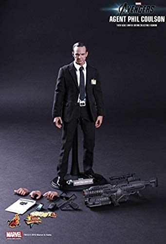 Hot Toys MMS189 - Marvel Comics - Avengers - Agent Phil Coulson