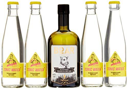 BOAR Gin Schwarzwald Tonic Edition Heimatgefühl im exklusiven Geschenkset in limitierter Auflae (1 x 0.5 l)