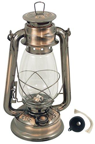 Générique 298 Lampe Tempête Acier Bronze Vieilli Vernie