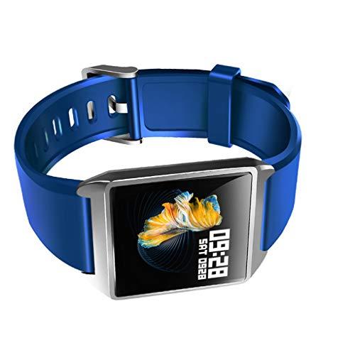 Legeringsframe IP68 Waterdichte stappenteller Instelbare hartslag Bloeddruk Slimme armband Horlogeband