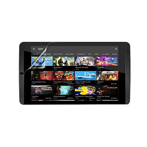 Celicious Protector de Pantalla Transparente Vivid para Nvidia Shield Tablet K1 (2015) – [Lote de 2]