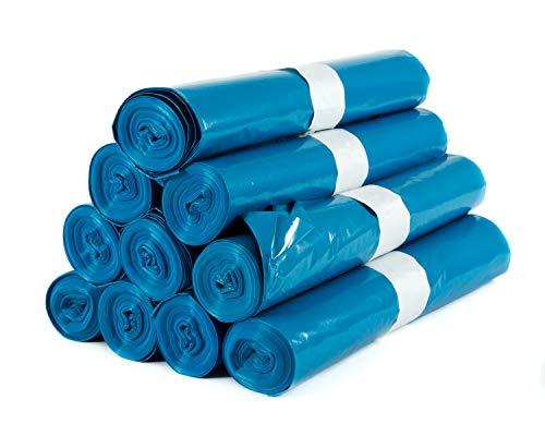 Hygiene VOS Sacchi per la Spazzatura Extra Resistenti. Extra Large 70cm x 110cm, Capacità 120 Litri. Pacchetto Economico di 100 Sacchi. 100% di Materiale Riciclato