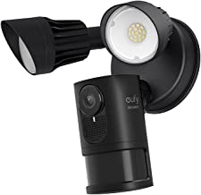 eufy Security Floodlight Camera E with Built-in AI, 2K Resolution, 2-Way Audio, No Monthly Fees, 2000-Lumen Brightness, We...