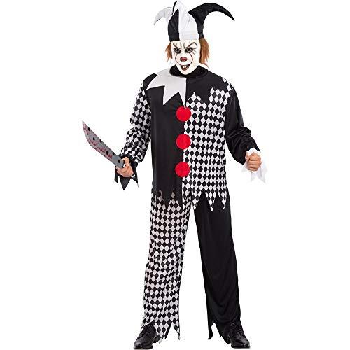 Carnival Toys servet Assassino T UL in envelop C / haak kostuum 638 kleurrijk 8004761821333